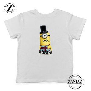 Buy Tshirt Kids Minion British army