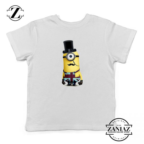 Buy Tshirt Kids Minion British army
