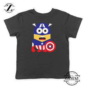 Buy Tshirt Kids Minion Captain America