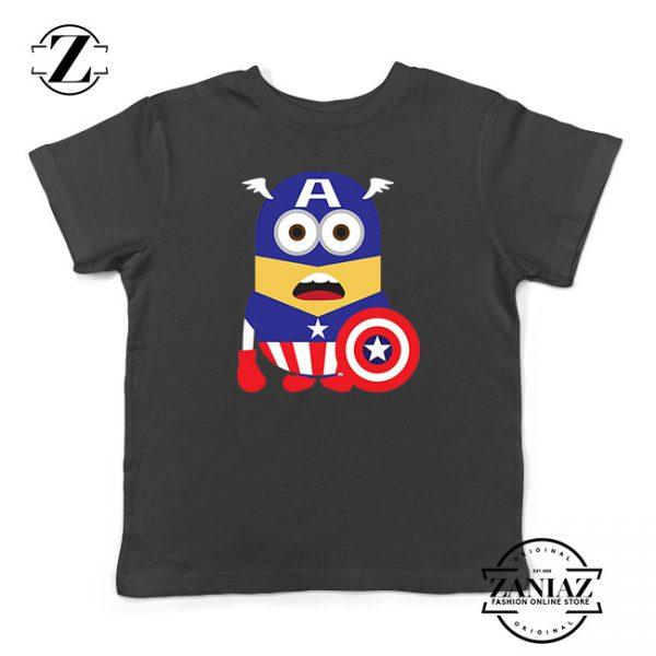 Buy Tshirt Kids Minion Captain America