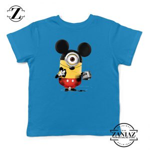 Buy Tshirt Kids Minion Mickey Mouse Disney
