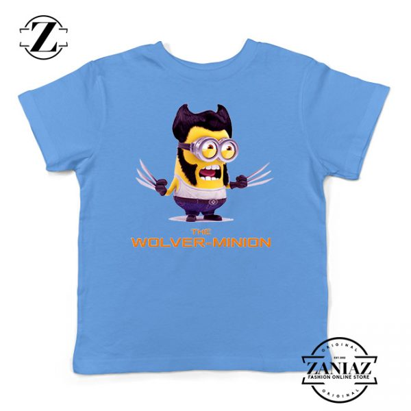 Buy Tshirt Kids Minion The Wolverine
