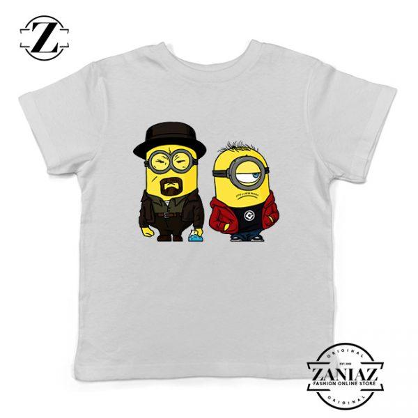 Buy Tshirt Kids Minions Breaking Bad