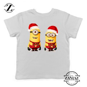 Buy Tshirt Kids Minions Christmas