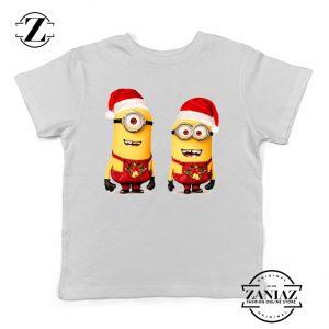 Buy Tshirt Kids Minions Christmas