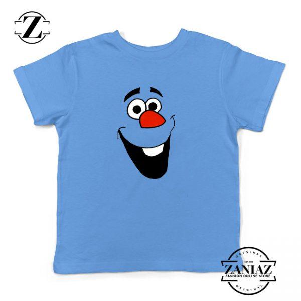 Buy Tshirt Kids Olaf Funny Smile Frozen