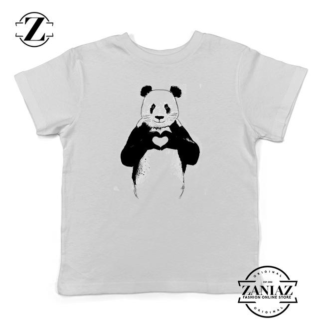 Kawaii Cute Panda Bear Face Head Blush Toddler /& Kids Boy Girl Tee Youth T-Shirt