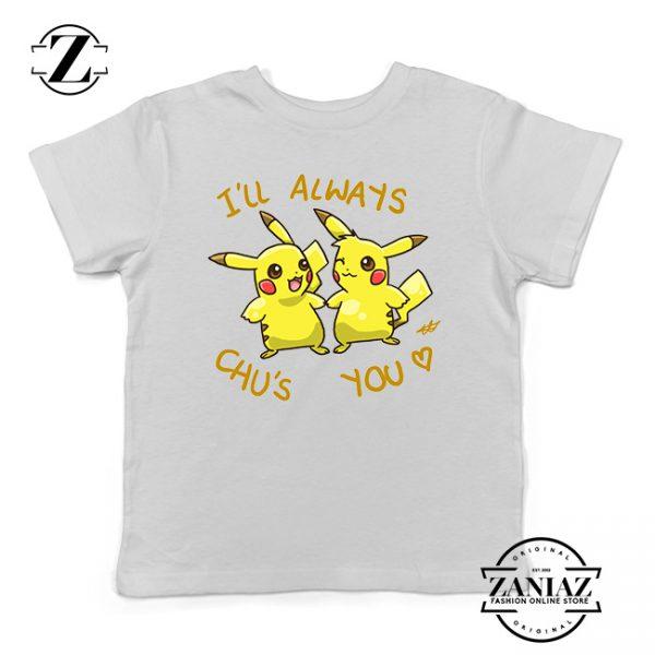 Buy Tshirt Kids Pikachu Always Love You