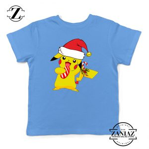 Buy Tshirt Kids Pikachu Christmas