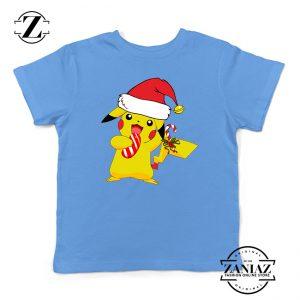 Buy Tshirt Kids Pikachu Christmas