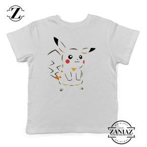 Buy Tshirt Kids Pikachu Happy Style