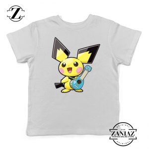 Buy Tshirt Kids Pikachu Play Music