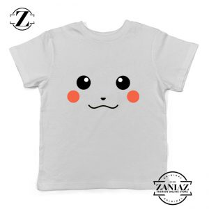 Buy Tshirt Kids Pikachu Smile Face