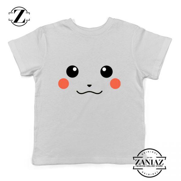 Buy Tshirt Kids Pikachu Smile Face