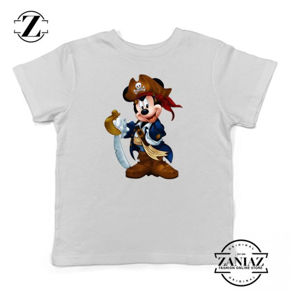 Buy Tshirt Kids Pirate Mickey Mouse