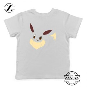 Buy Tshirt Kids Pokemon Eevee Smile