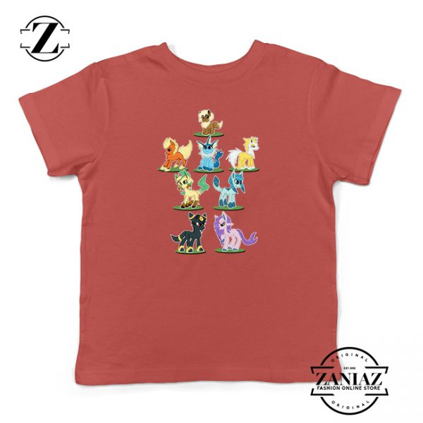Buy Tshirt Kids Pokemon Eevee and Friend