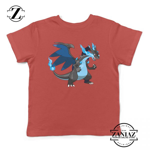 Buy Tshirt Kids Pokemon Mega Charizard X