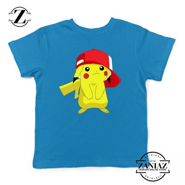 Buy Tshirt Kids Pokemon Pika Pikachu