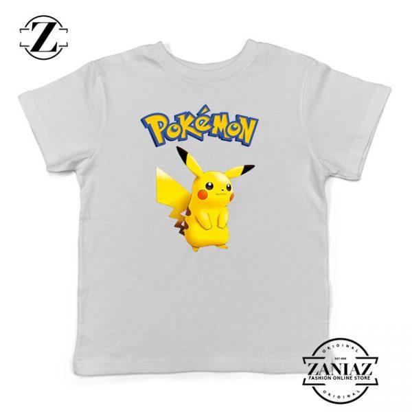 Buy Tshirt Kids Pokemon Pikachu
