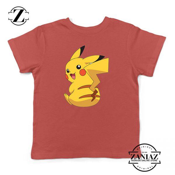Buy Tshirt Kids Pokemon Pikachu Cute