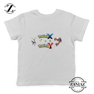 Buy Tshirt Kids Pokemon X and Y Poster