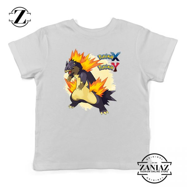Buy Tshirt Kids Pokemon x y Mega Typhlosion