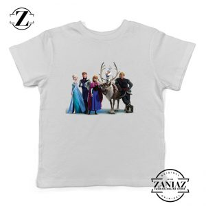Buy Tshirt Kids Princes and Princess Frozen