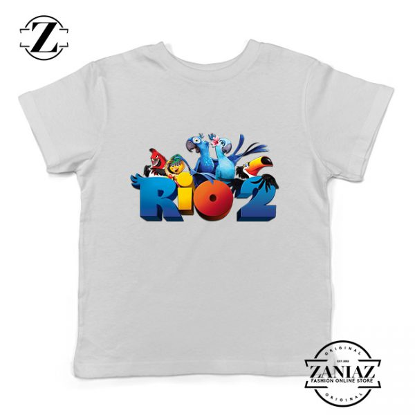 Buy Tshirt Kids Rio 2 Movie Logo