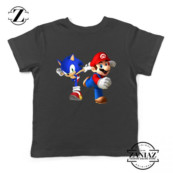 Buy Tshirt Kids Sonic Super Mario Run