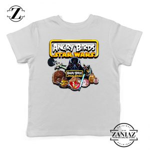Buy Tshirt Kids Star Wars Angry Birds