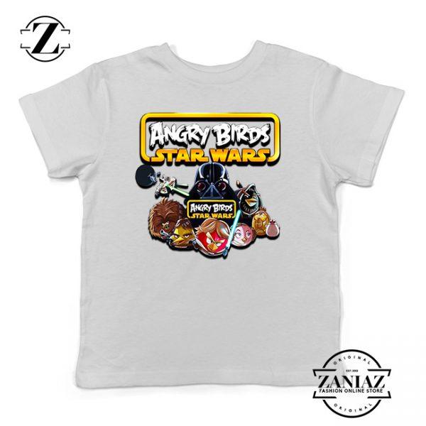 Buy Tshirt Kids Star Wars Angry Birds