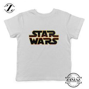 Buy Tshirt Kids Starwars Logo
