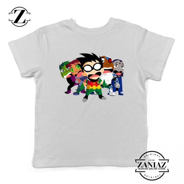 Buy Tshirt Kids Teen Titans Poster