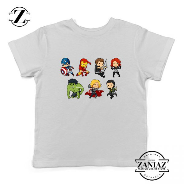 Buy Tshirt Kids The Avengers Cartoon