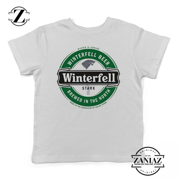 Buy Tshirt Kids Winterfell Game Of Thrones