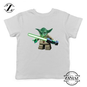 Buy Tshirt Kids Yoda Lightsaber Star Wars Weapon