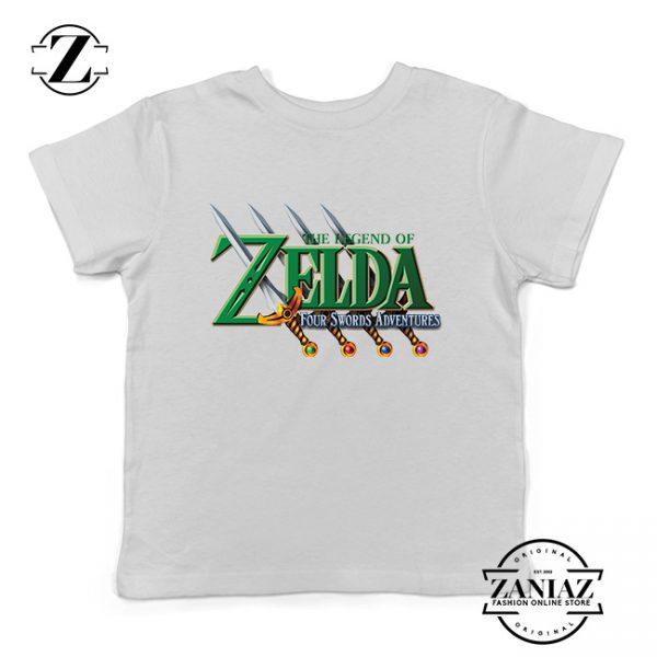 Buy Tshirt Kids Zelda Four Swords