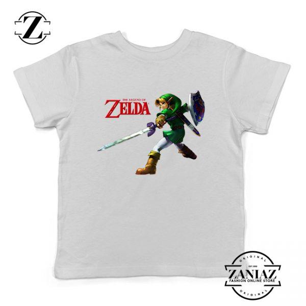 Buy Tshirt Kids Zelda Princes Link Attack