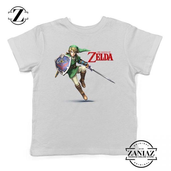 Buy Tshirt Kids Zelda Shield Princes Link