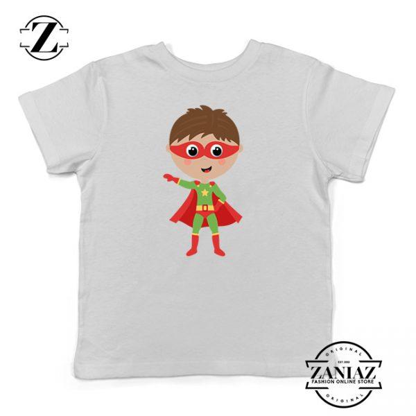 Custom Tshirt Kids Boy Superhero