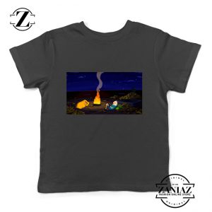 Custom Tshirt Kids Campfire Time