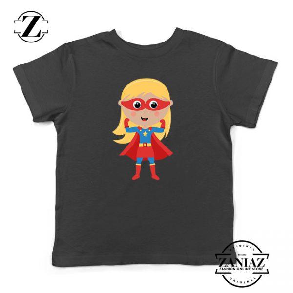 Custom Tshirt Kids Girl Superhero