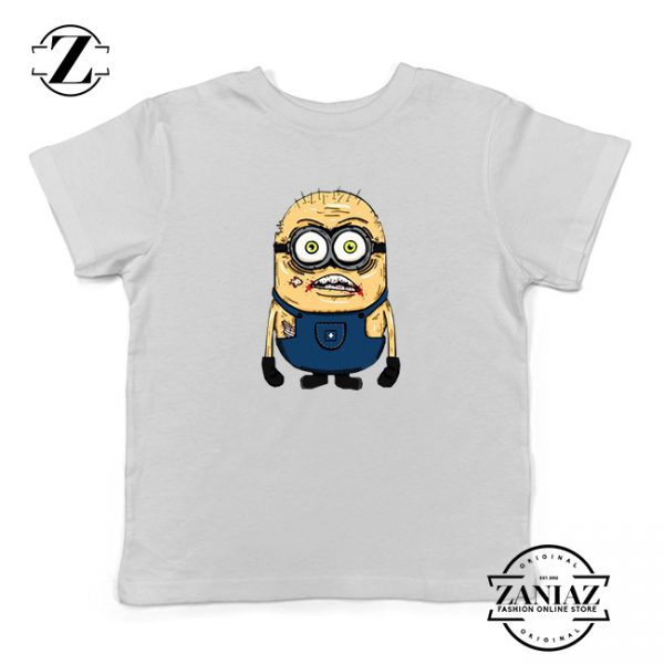 Custom Tshirt Kids Minion Zombie