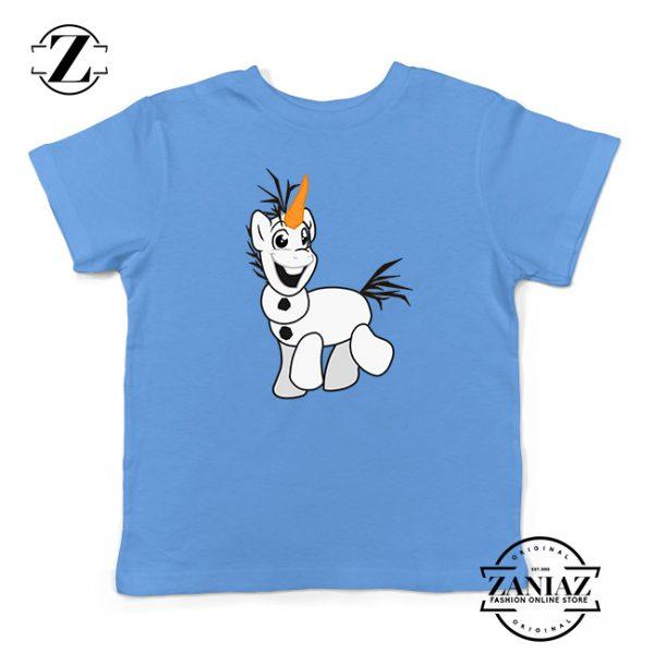 Custom Tshirt Kids Olaf Snowpony