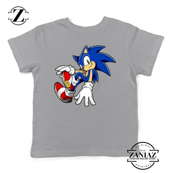 Custom Tshirt Kids Sonic Smile