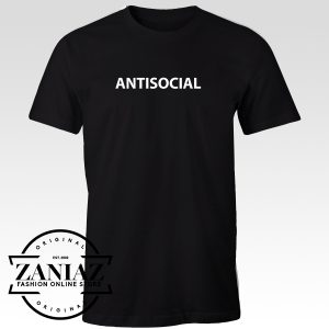 Antisocial Tshirt for Men and Women