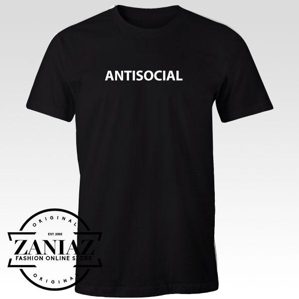 Antisocial Tshirt for Men and Women