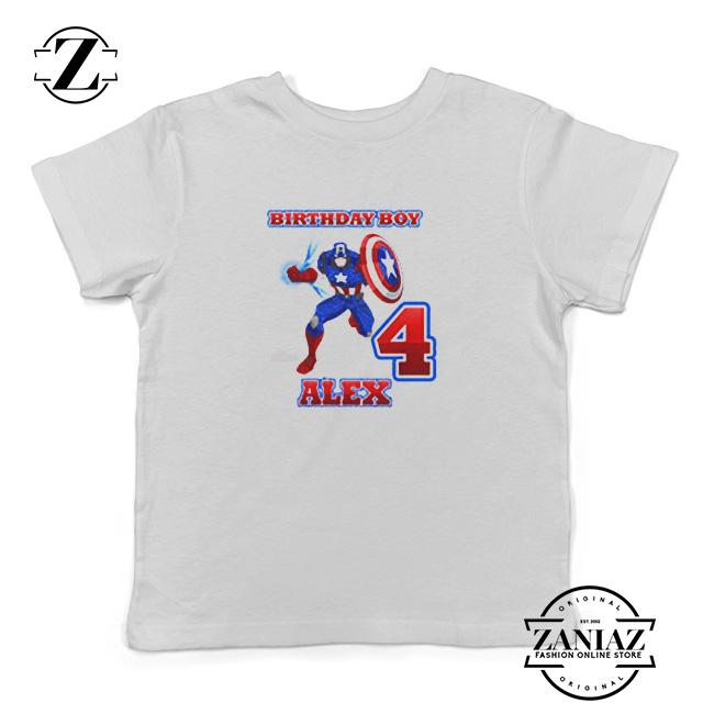 Buy Birthday Shirt Kids Captain America