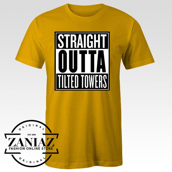 Buy Custom Fortnite Straight Outta Tilted Towers Tshirt